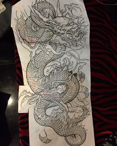Super tattoo dragon asian ink 69 ideas Tattoos And Body Art dragon tattoo design Dragon Tattoo Sketch, Dragon Sleeve Tattoos, Japanese Dragon Tattoos, Dragon Tattoo Designs, Tattoo Sketches, Japanese Tattoo Art, Japanese Tattoo Designs, Japanese Sleeve Tattoos, Kunst Tattoos