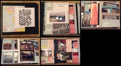 Marrying traditional scrapping booking with interactive elements is what the Retrospection 365 album by designer Kathy King of Paper Phenomenon is all about - http://shop.paperphenomenon.com/Retrospection-365-Tutorial-and-How-to-Videos-TUT083.htm
