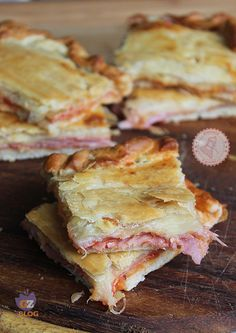 PIZZA PARIGINA ricetta facile gustosa