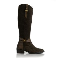 London Boot Choc. Suede