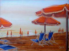 Viareggio - olio su tela - 2001 (15x20)