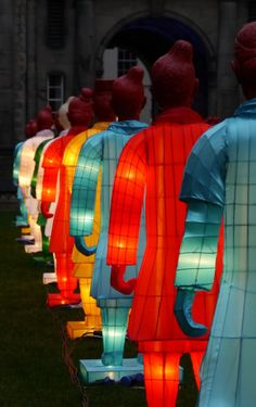 """""""Lanterns of Terracotta Army"""" Shine for Chinese New Year"""
