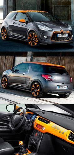 ♂ The Citroen DS3 Racing is a limited edition version of the DS3 which was developed by Citroën Racing - the team behind five WRC manufacturer's titles and six driver's titles for Sébastien Loeb and Daniel Elena.