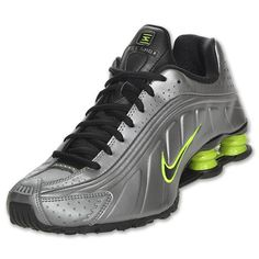 Nike | Shox R4 in Grey/Black/Volt
