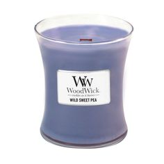 WoodWick Wild Sweet Pea Scented Candle – Just Scented Candles