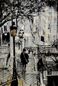 "Saatchi Art Artist Loui Jover; Drawing, ""arrondissement"" #art"