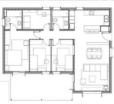 planos de casas 4 dormitorios 2 baños