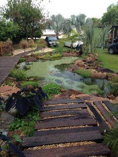 17 Family Natural Swimming Pools You Want To Jump Into Immediately - teich/pool - Natural swimming pools Backyard Water Feature, Ponds Backyard, Backyard Landscaping, Landscaping Ideas, Natural Landscaping, Koi Ponds, Natural Swimming Ponds, Natural Pond, Natural Garden