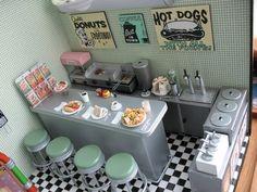 Miniature Snack shop