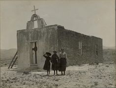 churches of new mexico   Old Church, New Mexico by Unknown Artist