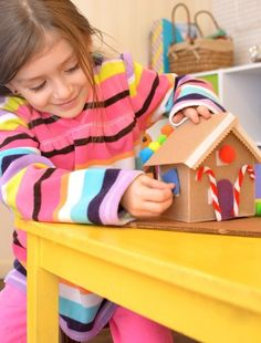 Do your kids enjoy decorating gingerbread houses? Do they wish they could build and decorate gingerbread houses all day long over and over? Do ...