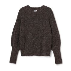 Knitwear ❤ liked on Polyvore featuring tops, sweaters, denim top and knitwear sweater