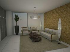 Recepção Condomínio Residencial  Fortaleza -Ce Projeto Auri Deusdarå Interiores