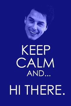 Captain Jack Harkness  . . . if only he'd say that to me . . .