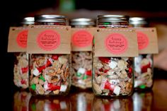 Christmas gifts - sweet and salty chex mix
