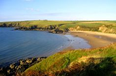 Whistling Sands, on the Llyn Peninsula