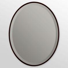 22 x 28 in. Seymour Oval Mirror | Hayneedle