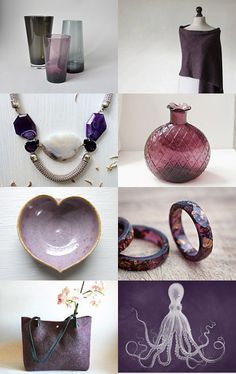 Purple Gifts by Ilona on Etsy--Pinned with TreasuryPin.com