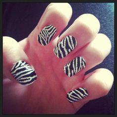 Zebra bling nail strips..on sale 6.99 visit me..www.youravon.com/denisehatcher