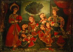 Image result for ‫نقاشی قدیمی ایرانی‬‎ Ancient Persian, Miniatures, Painting, Indian, Art, Idea Paint, Art Production, Art Background, Painting Art