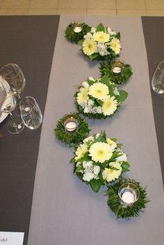 … – - Decoration For Home Table Flower Arrangements, Beautiful Flower Arrangements, Table Flowers, Floral Centerpieces, Table Centerpieces, Wedding Centerpieces, Wedding Table, Centrepieces, Deco Floral