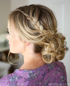 looped-lace-braid-updo-hairstyle