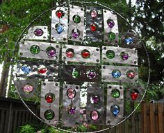 Dream Catcher Garden Art