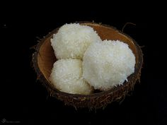 Kokosove Ladoo Indian Sweets, Coconut, Food And Drink, Fruit