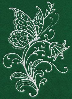 Grand Sewing Embroidery Designs At Home Ideas. Beauteous Finished Sewing Embroidery Designs At Home Ideas. Machine Embroidery Patterns, Hand Embroidery Designs, Embroidery Thread, Embroidery Applique, Butterfly Embroidery, Learning To Embroider, Silk Ribbon Embroidery, Butterfly Design, Fabric Painting
