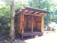Firewood Storage Shed - The HuntingPA.com Outdoor Community