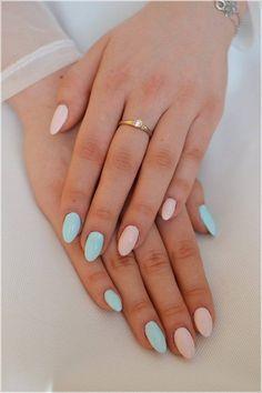 Semilac ® by Diamond Cosmetics Pink Gel Nails, Love Nails, Acrylic Nails, Diamond Cosmetics, Multicolored Nails, Nail Candy, Beautiful Nail Art, Almond Nails, Shellac