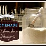Homemade laundry and homemade dishwasher soap to protect your family from toxins and chemicals