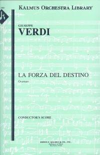 Verdi: La Forza Del Destino - Overture - Full Score. £40.75