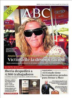 La portada de ABC del 10 de noviembre