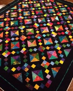 Jewel Box Quilt - Tutorial | Quilting Patterns and Tutorials | Bloglovin'