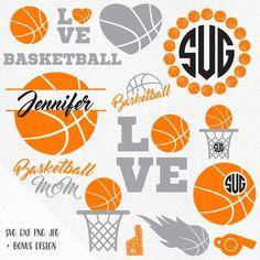 Basketball monogram svg basketball mom svg by SVGbyIdearia Basketball Heart, Basketball Mom Shirts, Basketball Playoffs, Basketball Tricks, Basketball Season, Basketball Coach, Basketball Games, Houston Basketball, Girls Basketball
