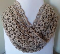 Tipsy Triples Crochet Infinity Scarf: FREECrochet Pattern - SassaFrass Crochet and Design