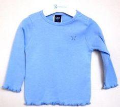 9a120b15d38 Camiseta niña m/l de algodón con cuello redondo de Girandola - Blusas y Camisas  Niñas