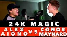 Bruno Mars - 24K Magic (SING OFF vs. Alex Aiono) Conor with another one...
