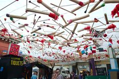 Festa Major de Gracia Kitsch, Ferris Wheel, Travel Inspiration, Barcelona, Fair Grounds, Party, Festivals, Image, Sky
