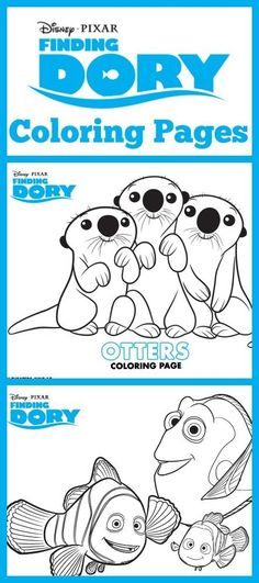 Download these adorable Finding Dory Coloring Sheets #FindingDoryEvent #FindingDory  http://iamamommynerd.com/finding-dory-coloring-sheets/?utm_campaign=coschedule&utm_source=pinterest&utm_medium=Dawn%20Cullo%20-%20I%20Am%20a%20Mommy%20Nerd&utm_content=Finding%20Dory%20Coloring%20Sheets #Printables