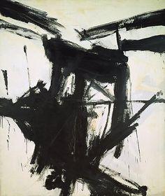 Franz Kline, August Day, 1957 Oil on canvas 92 x 78 in. 233.7 x 198.1 cm