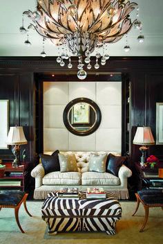 Black and White perfection #interior #livingroom #home design #thisnew