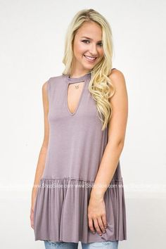 Chelsea Taupe Tunic #women #fashion #clothing #tops #summerstyle
