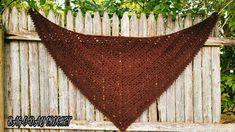 Easy Crochet Shawl | Beginner Crochet Shawl | Easy Crochet Wrap | Bag O Day Crochet Tutorial - YouTube Crochet Prayer Shawls, Crochet Shawls And Wraps, Crochet Scarves, Shawl Patterns, Crochet Patterns, Crochet Tutorials, Cool Patterns, Crochet Triangle Scarf, Easy Stitch