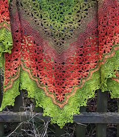 Strawberry Fields is a top down rectangular triangle shawl, featuring intriguing flower lace sections, framed by chevron sections.I am pleased to offer you an introductory discount of off till Sunday, Feb p.m EST (Midnight Berlin Time) Please use the Shawl Crochet, Crochet Shawls And Wraps, Knitted Shawls, Knit Or Crochet, Crochet Scarves, Crochet Clothes, Crochet Stitches, Shawl Patterns, Crochet Patterns