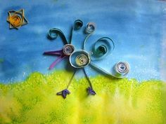 ...do Paper Quilling with my kids