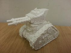 Making a Warhammer 40k Ork army Grot Tank Tutorial - Forum - DakkaDakka | Why talk it out when you can shoot it out?