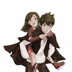 Jack and Sister. Them feels be killing me now