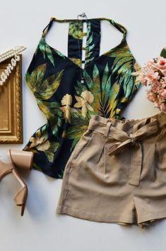 Regatas | Categorias de produto | Fernanda Ramos Store | Página 7 Baby Girl Fashion, Teen Fashion, Fashion Outfits, Cute Girl Outfits, Short Outfits, Looks Chic, Casual Looks, Mode Rockabilly, New Look Fashion